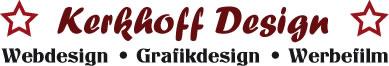 Kerkhoff Design - Webdesign, Grafikdesign, Werbefilm