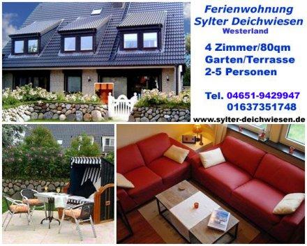 Ferienwohnung Sylt - Sylter Deichwiesen