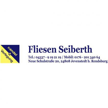 Fliesen Seiberth-Handel & Verlegung